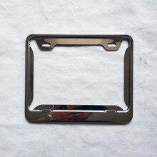 مناسبة ل اسبانيا موتو دراجة نارية ترخيص أرقام لوحات معدنية تقليد الكربون الألياف لوحة حامل الإطار 1 قطعة
