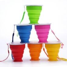 Уличная Портативная Складная чашка для воды многофункциональная