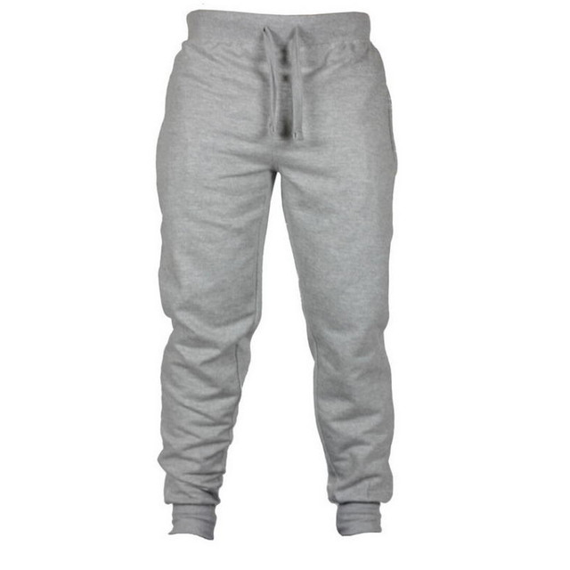 Jogging Casual Hombre Pantalones de aptitud de los hombres ropa deportiva pantalones de chándal ajustados pantalones de chándal Pantalones negro gimnasios Jogger Pantalones 3