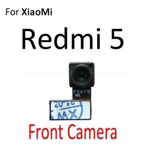 Image 2 - אחורי עיקרי חזית מול מצלמה להגמיש כבל עבור Xiaomi Mi 5S Redmi 5 בתוספת הערה 5A 5 פרו חזרה גדול קטן מודול סרט