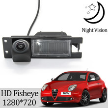 Owtosin hd 1280*720 fisheye câmera de visão traseira para opel karl/vauxhall viva 2014 2015 2016 2017 2018 acessórios estacionamento do carro