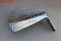 Fujistar Golf Zodia Gesmeed Carbon Staal Golf Iron Heads #4-# P Zilver Kleur