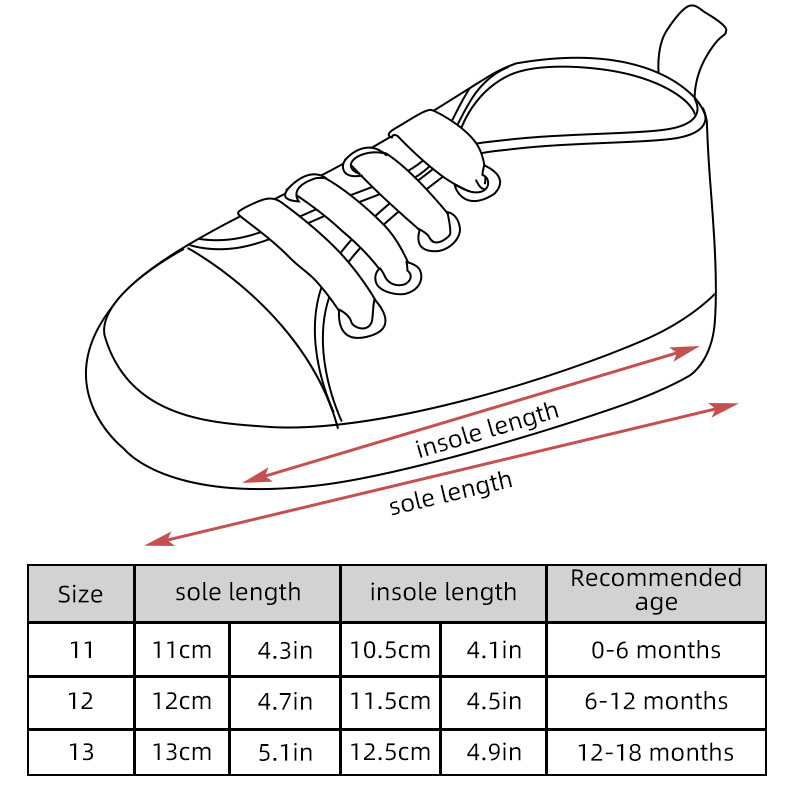 鞋子线稿尺寸