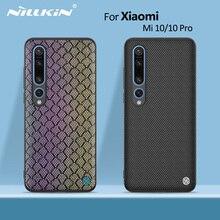 Dla Xiao mi mi 10 skrzynki pokrywa 6.67 NILLKIN Striker case PC TPU silikonowy sport styl powrót etui na xiaomi mi 10 Pro Case 5G