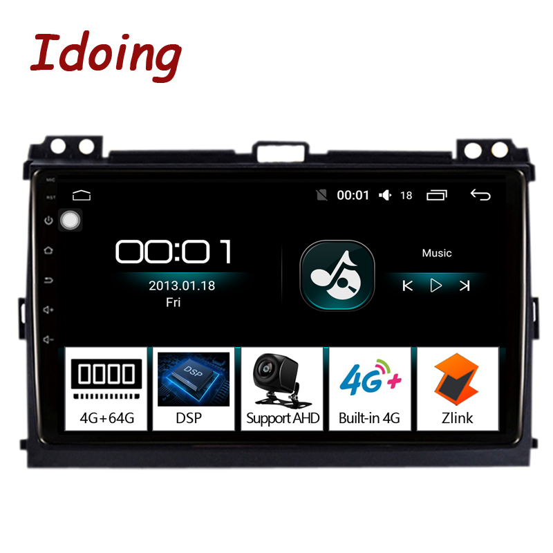 Idoing 9 4G 64G Octa Core Car Radio Android 8 1 8 1 Multimedia Player For