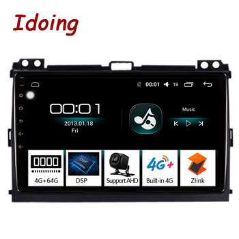 "Idoing 9""4G+64G Octa Core Car Radio Android 8.1 8,1 Multimedia Player For Toyota LAND CRUISER Prado 120 2003-2009 GPS Navigation"