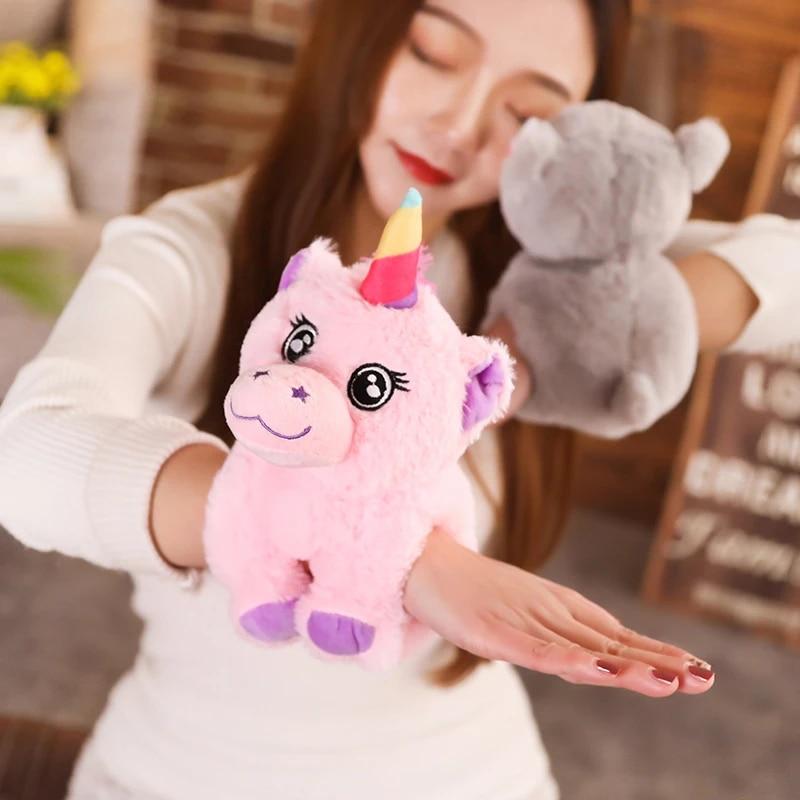 Best Stuffed Animals For Boy, Unicorn Arm Huggers Stuffed Animal Toy Slap Bracelet Plush Toys Soft Gifts For Kids Wrist Band Kawaii Doll Stuffed Plush Animals Aliexpress