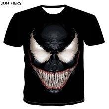 Spider Venom T-shirt 3d Printed T-shirts Men Women Casual Shirt Short Sleeve Fitness T Deadpool Tees Man Skull Tops