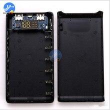 6x18650 قوة البنك صندوق شل شاحن بطارية 6*18650 حافظة بطاريات حامل Type C المصغّر USB ميناء لشحن الهاتف المحمول