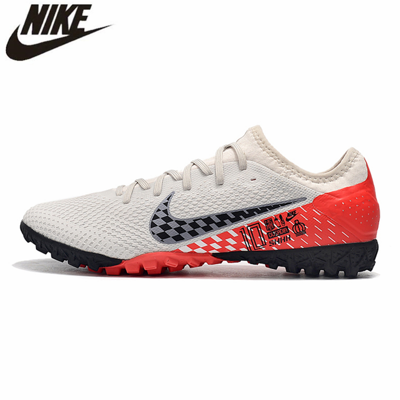 US $56.16 48% OFF Nike Mercurial Vapor 13 Pro TF 39 45 Football Cleats Boots Soccer Laces Turf Sneakers Men Soccer Shoes Zapatos De Futbol Hombre in
