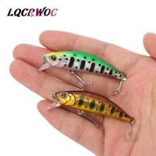 hot new 50mm 5g Mini Minnow fishing lures small fish trout lure 5cm hard bait spinner crankbait swimbait whopper plopper pesca