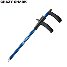 CrazyShark removedor de anzuelos de aluminio, Extractor de anzuelos liviano, separador de anzuelos, herramientas portátiles para desacoplar, bueno para pesca, 34,6 cm