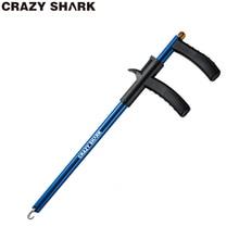 Crazyshark alumínio gancho removedor peixe gancho extrator leve gancho desacoplador portátil ferramentas/bom para a pesca 34.6cm