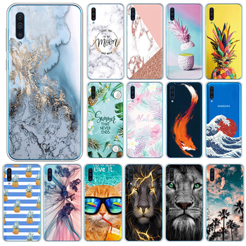 For Samsung Galaxy A50 A30s A50s TPU Case For SamsungGalaxy A 50 A 30s A 50s Phone Cases 6.4 Silicone Back Cover Coque Shell image