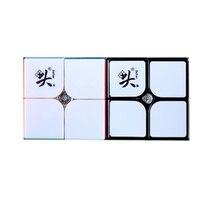 Dayan tengyun 2x2 m 2x2x2 magia magnética cubing velocidade 2x2 cubo magico brinquedos educativos jogo de presente crianças