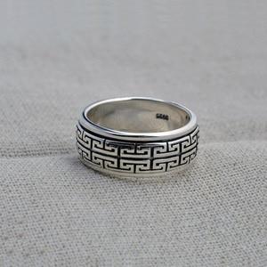 Image 2 - Кольцо из серебра 925 пробы для мужчин и женщин