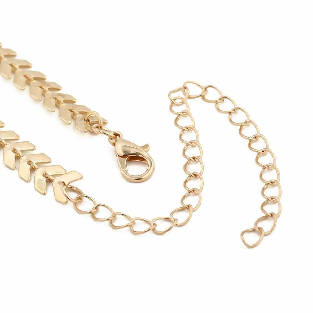 Collar de moda Waresale collar Simple COLLAR COLGANTE 2018 Cadena de clavícula perla-oro y plata