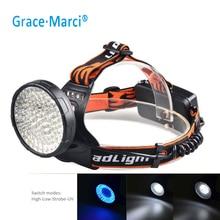 GM UV+White LED Headlamp Waterproof Rechargable 100 LED 10w Headlight 395nm UV LED Headlamp For Fluorescent Running