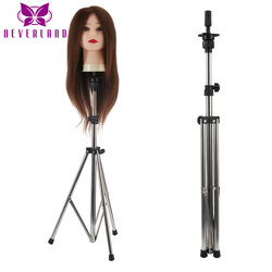 Aluminum Adjustable Long Tripod Stand Practice Hair Training Mannequin Head Holder Clamp Showed Pro Salon Styling Accessories