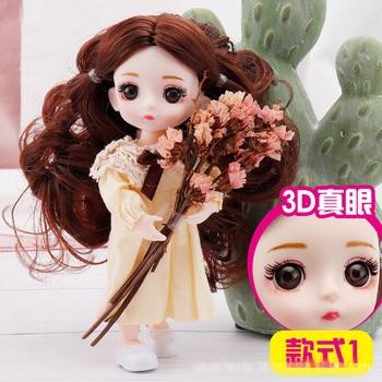 Кукла шарнирная 17 см. 3
