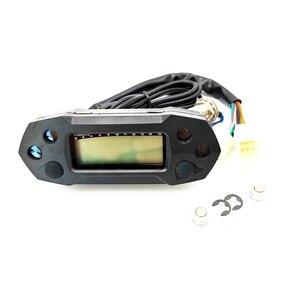 Image 2 - Universal motorcycle speedometer digital odemeter electric injection carburetor meter