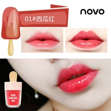 Hot Candy Colors Super Ice Cream Lip Gloss Waterproof Long Lasting Makeup Liquid Lipstick Sweet Red Lip Tint Sweet Lipgloss TSLM недорого