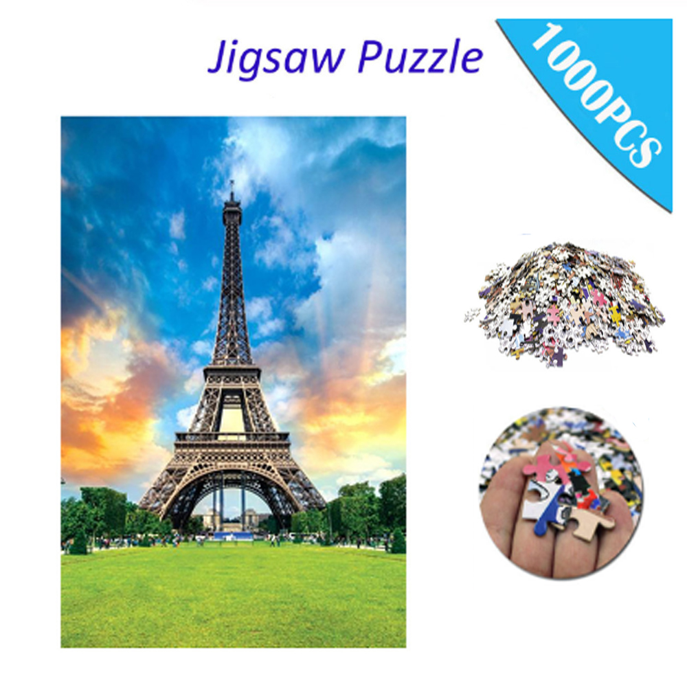 1000 Pieces Jigsaws Picture Assembling Games Educational Toys Puzzle Jigsaw Educational Toys For Children Puzzle Adulto