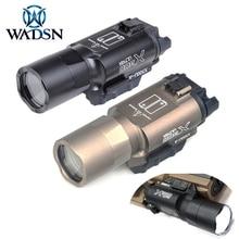 Wadsn surefir x300 ultra tactical arma lanterna pistola x300u 510lumens caça scoutlight caber 20mm picatinny ferroviário