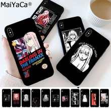 MaiYaCa Zero dwa kochanie w FranXX Anime etui na telefon iPhone 11 12 pro XS MAX 8 7 6 6S Plus X 5S SE 2020 XR okładka