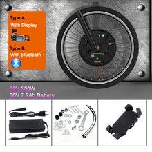 Jueshuai imortor 3 kit de conversão bicicleta elétrica 36v 350w roda do motor 24