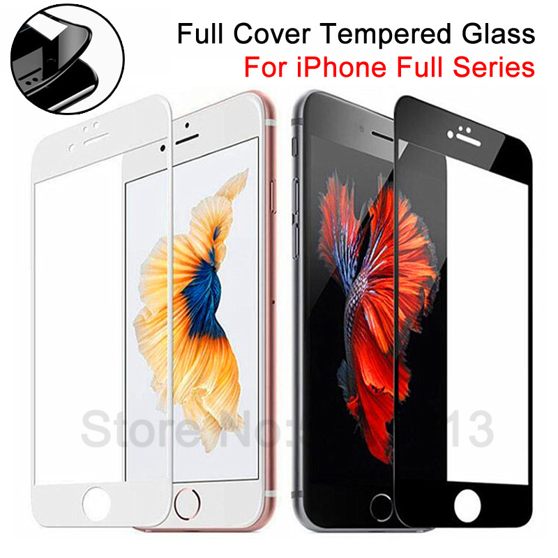 99D Curved Edge Tempered Glass On The For IPhone 7 8 6 6S Plus Screen Protector For IPhone 11 Pro X XS Max XR Protective Glass