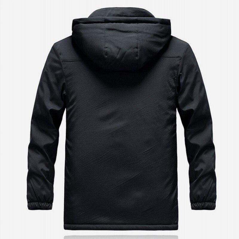 Inverno engrossar velo forro caminhadas jaqueta dos