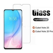 2-1 pces vidro temperado para o global cubot nota 20 smartphone película de vidro protetor de proteção no cristal cubot nota 20 pro protetor de tela