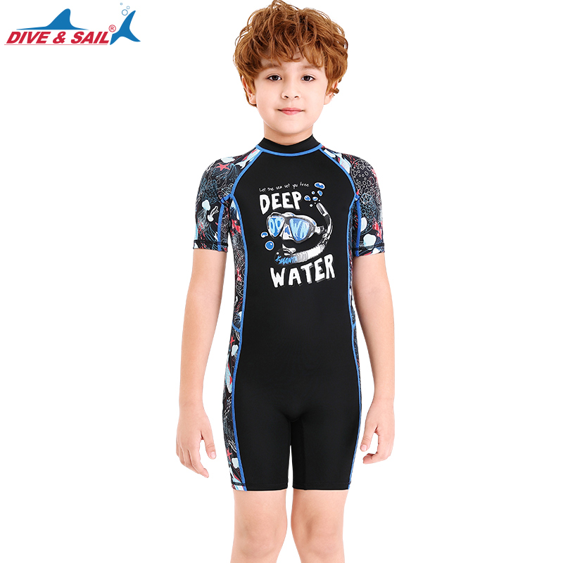 Girls Short Sleeve Swimsuit Rash Guards Set Kids Bathing Suit UV Sun Protective Swimwear Beachwear