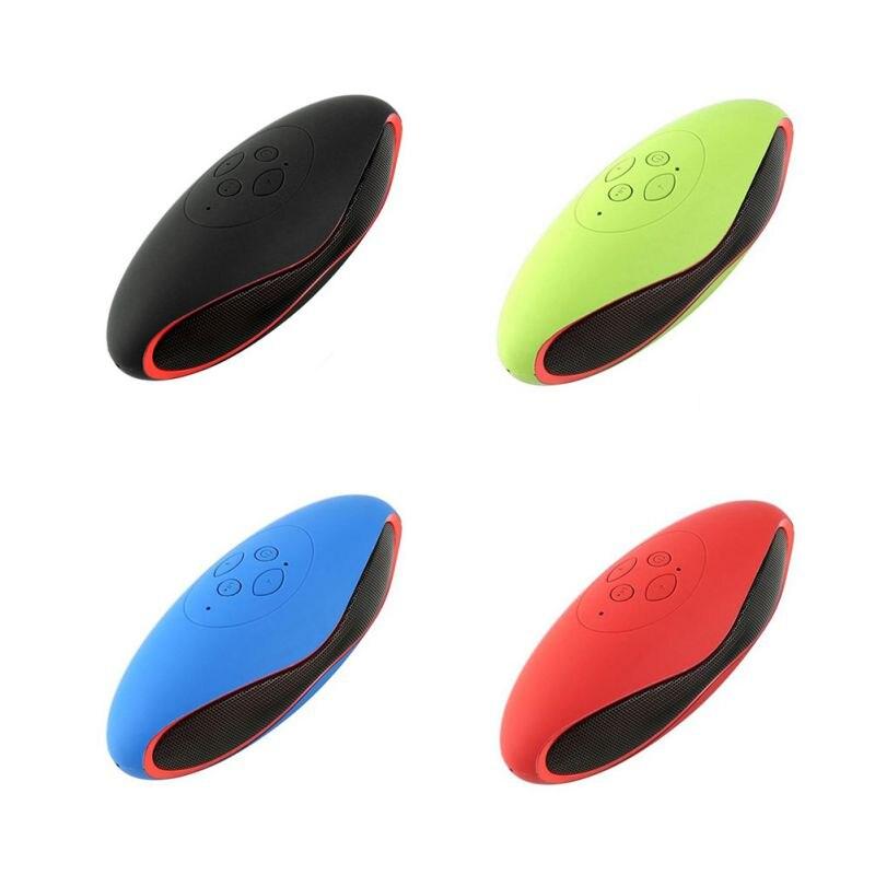 X6U.Rugby X6 Bluetooth Speaker Mini Plug In Card Wireless Bluetooth Speaker USB Super Bass Column Acoustic System Speaker