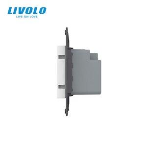 Image 4 - Livolo Thermostat, contrôle de température Standard ue (sans panneau en verre), dispositif de chauffage, prise 110 250V AC C7 01TM 11