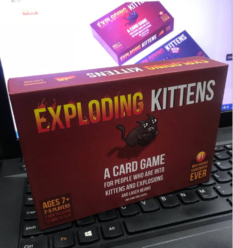 Kitten Original Edition  Red Box Black Box NSFW Edition Family Party Strategy Explode Fun For Board Games Cards Adult Child Toy