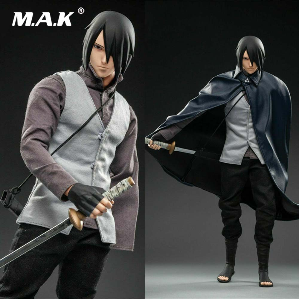 For Fans Collection 1/6 Scale SFS022 WTOYS NARUTO Uchiha Sasuke Action Figure  Model For Fans Holiday Gifts