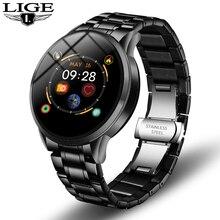 LIGE Smart Watch Men IP68 Waterproof Reloj Hombre Mode SmartWatch With ECG PPG B