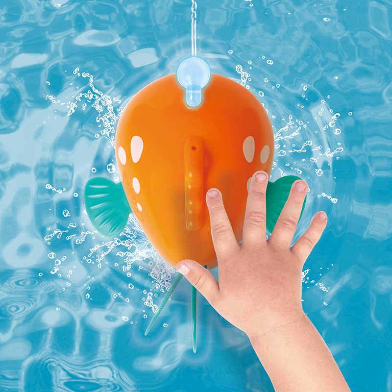 HOLA 8103 Del Bambino Squalo Giocattoli Da Bagno per Bambini 0-12 mesi I Bambini di Acqua Giocattolo con Musica e Luce per bagno Giocattoli per I Bambini Del Ragazzo