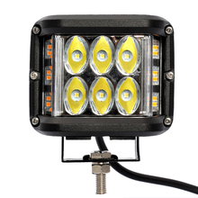 Driving-Lamp Headlight Truck Flash-Lamp Work Amber 24V Car White 12V 60W IP67 Spraying