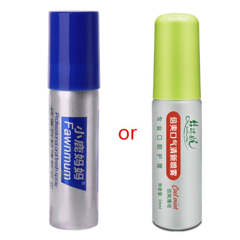 Herbal Mouth Freshener Antibacterial Oral Spray Treatment Fresh Breath 20ml