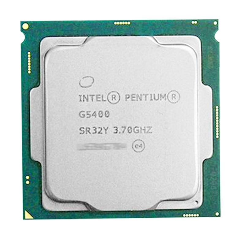 Intel  Pentium  PC G5400 Desktop Computer Processor G5400 3.7G 512KB 4MB CPU LGA 1151-land FC-LGA 14 Nanometers Dual-Core 2 CPU
