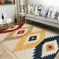Этнические винтажные персидские ковры в американском стиле для гостиной современный ковер для детской комнаты прикроватный коврик богемн...