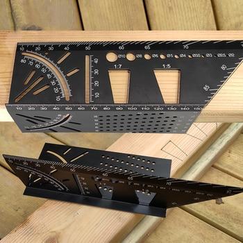 Multi Winkel 3D Ecke Lineal Winkelmesser Neigungs Stereo Winkel Lineal Dreidimensionale Holzbearbeitung Carpenter Messung Werkzeug
