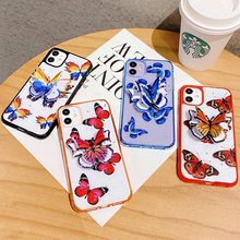 3D Beauty Butterfly Stand Holder Phone Case For iph