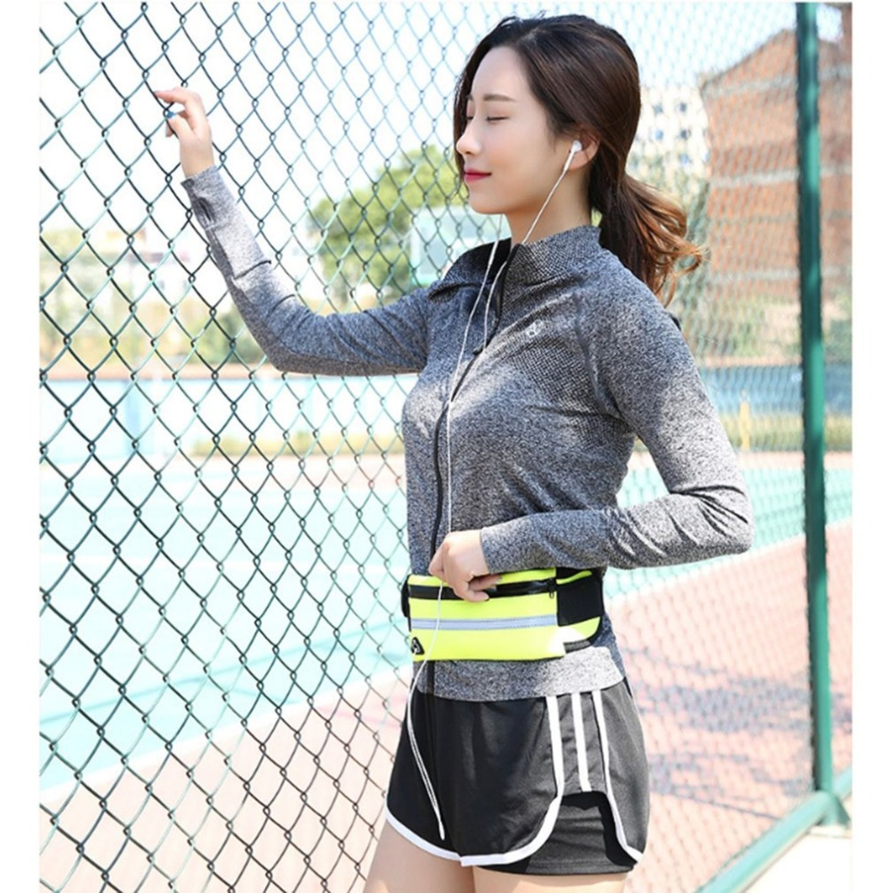 Outdoor Sports Waist Bag Wallet Water Bottle Pouch Bag Waterproof Men Women Mobile Phone Bag For Running Cycling
