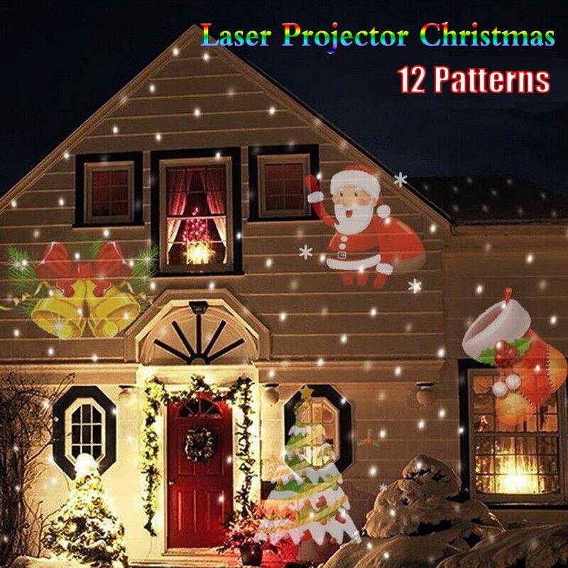Laser Projector Lights 12 Patterns Led