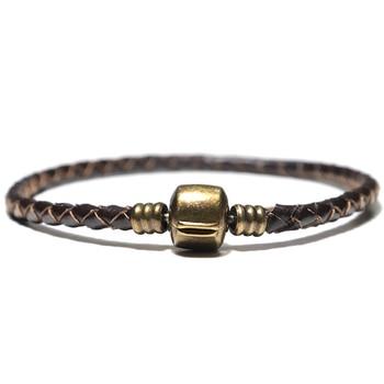 Bracelet cuir minimaliste 3
