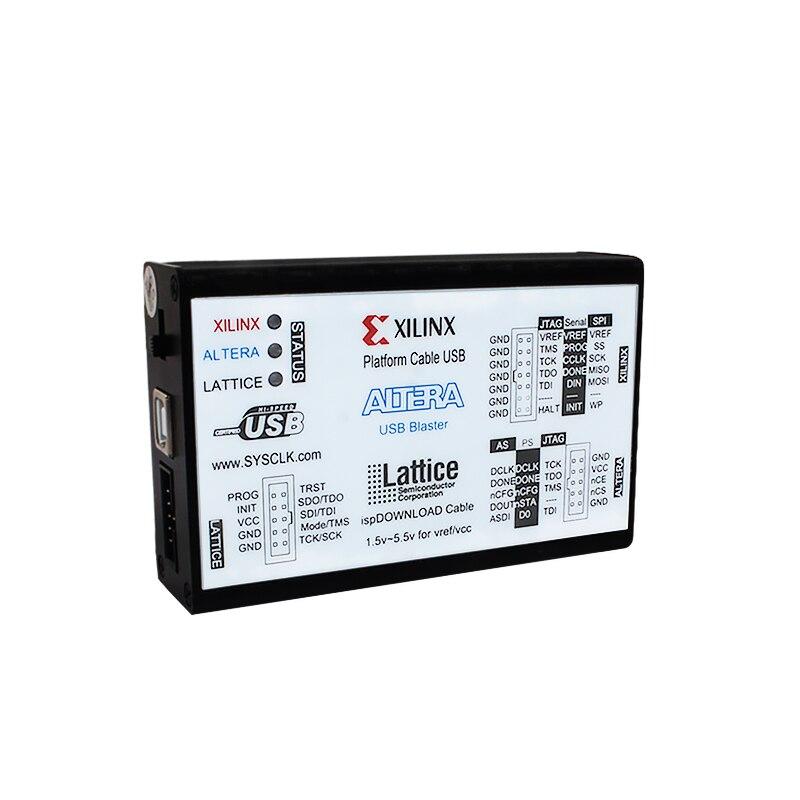 Xilinx Downloader Altera Download Cable Lattice Usb Three In One Fpga Cpld Development Board